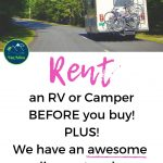 Rent an RV or Campervan and Try out Vanlife or RVLife on your next family vacation or road trip! Plus, we have an amazing discount code! #vanadieu #stopwastingweekends #rv #rvtrip #rvlife #van #vanlife #vantrip #campervan #roadtrip #vacation #familyvacation #nationalparks #nationalpark #outdoor #outdoors #outdoorlife