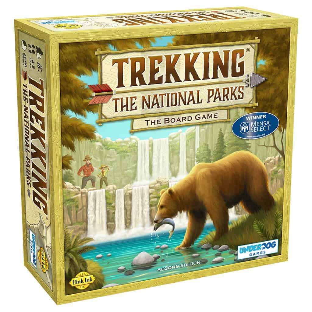 Trekking the National Parks Board Game Review